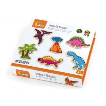 viga magnesy z dinozaurami