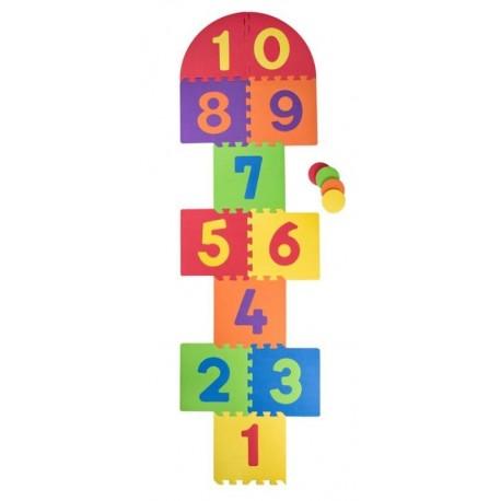 puzzle podłogowe gra w klasy