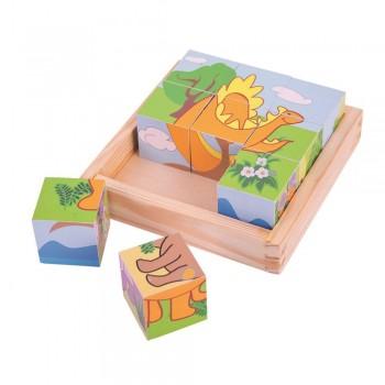 Puzzle kostki obrazkowe...