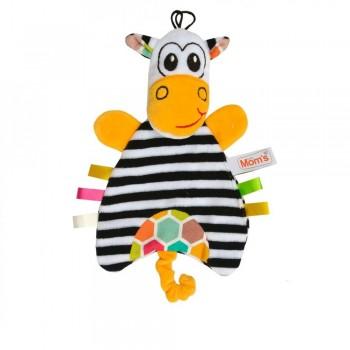 Przytulanka - pacynka Zebra