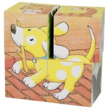 Goki puzzle sześcienne małe...