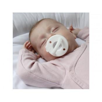 Smoczek dla niemowląt biały