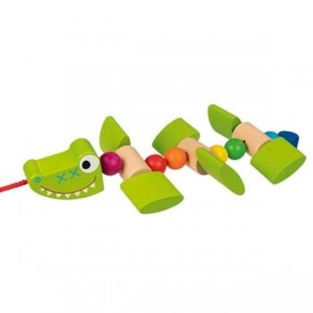Krokodyl na sznurku do...