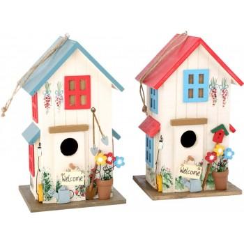 Domek dla ptaków - kolorowy...