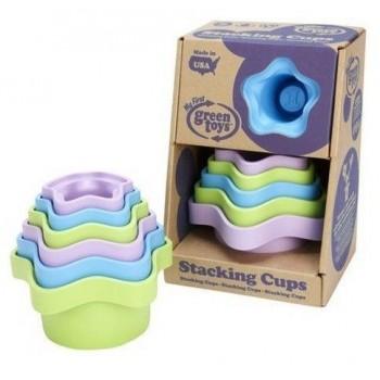 Green Toys Wieża z kubeczków