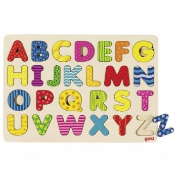 Goki Puzzle ABC układanka...