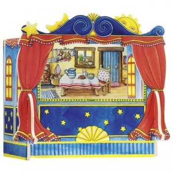 Teatr stolikowy dla pacynek