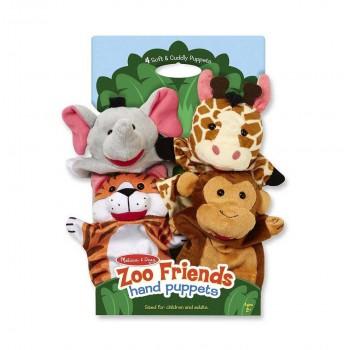Pacynki na rękę Zoo komplet...