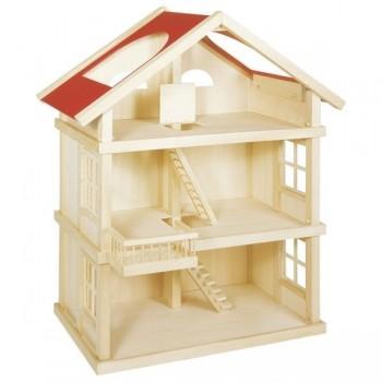 Drewniany duży domek dla...