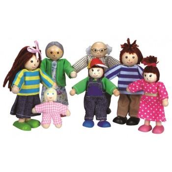 Lalki do domku dla lalek -...