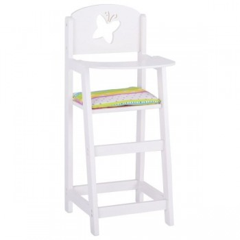 Drewniane krzesło dla lalek...