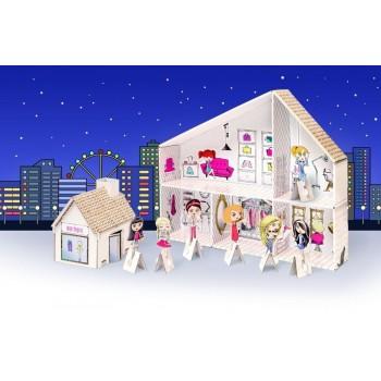 Zabawka z kartonu - Salon...