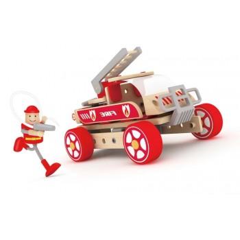 Autoskładak drewniany wóz...