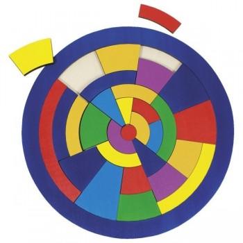 Puzzle koło - układanka...