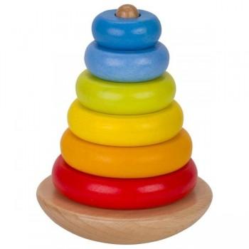 Balansująca wieża z...