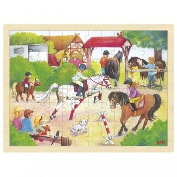 Puzzle duże Stadnina koni