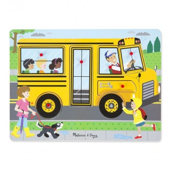 Puzzle dźwiękowe - Autobus...