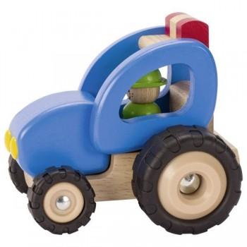 Traktor drewniany Solidny...