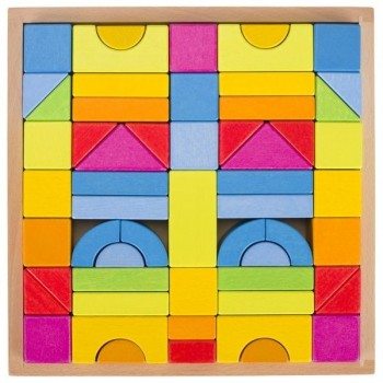 Klocki konstrukcyjne Rainbow
