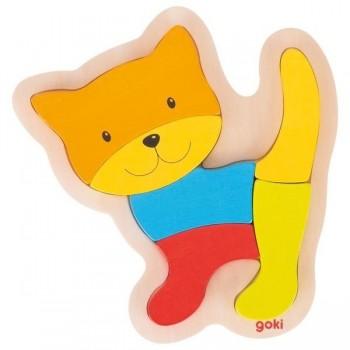 Goki Układanka kotek