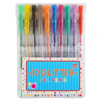 Długopisy żelowe - brokatowe