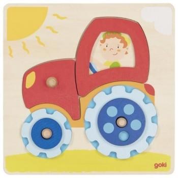 Goki Układanka z traktorem