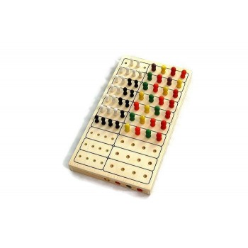Logik gra drewniana