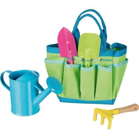 Narzędzia ogrodnika w torbie