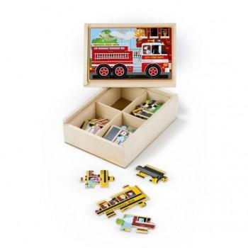 Drewniane puzzle – zestaw 4...
