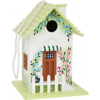 Domek dla ptaków - ozdobna...