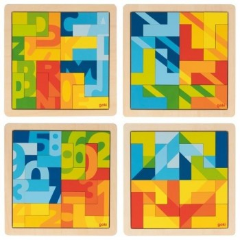 Puzzle wyobraźni - zestaw 4...