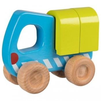 Goki ciężarówka z klockami