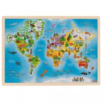 Układanka edukacyjna mapa...