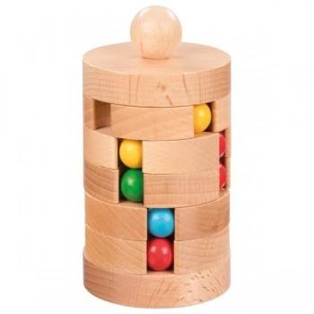 Gra logiczna wieża z kulkami