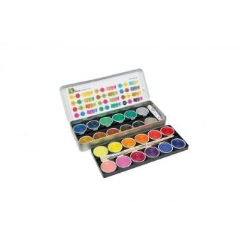 Farby 24 kolory plus biała...