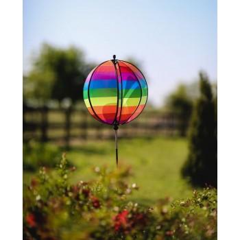 Wiatrak duży tęczowy balon