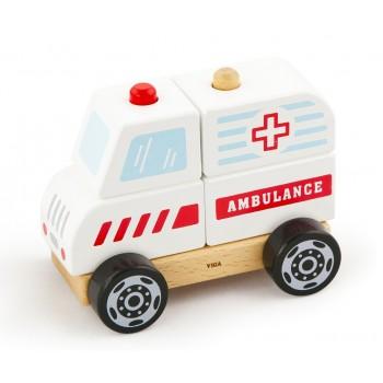 Viga 50204 Klocki ambulans