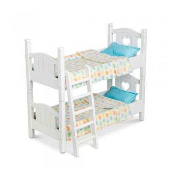Łóżko piętrowe dla lalek