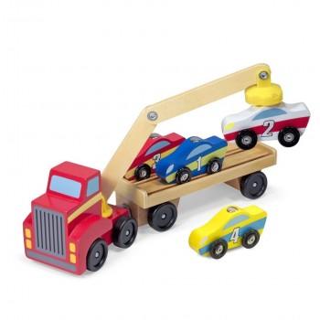 Ciężarówka z podnośnikiem...