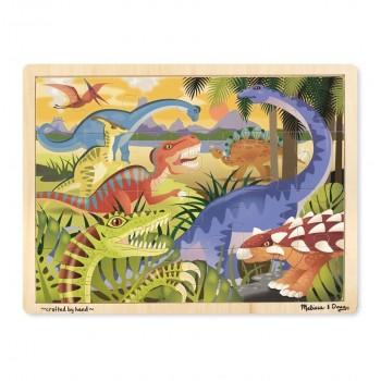 Duże drewniane puzzle –...