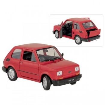 Metalowy model Fiat 126p