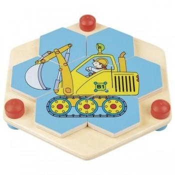 Goki puzzle hexagonalne...