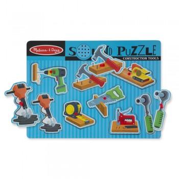 Puzzle dźwiękowe - narzędzia