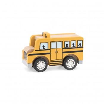 Viga 44514 Drewniany Autobus