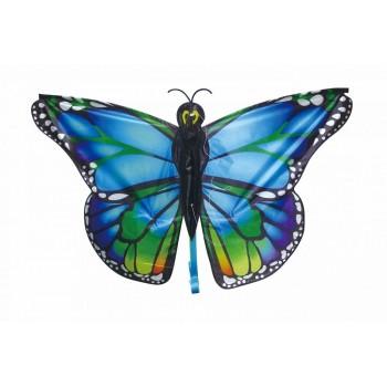 Latawiec duży błękitny motyl