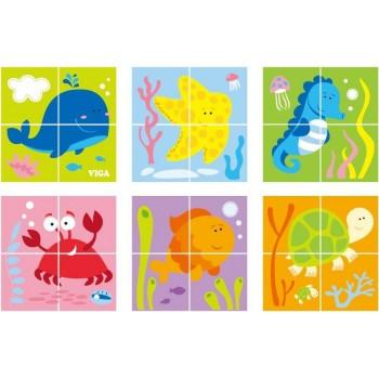 Viga 50161 Kostki puzzle -...