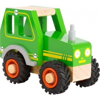 Traktor zabawka drewniana...