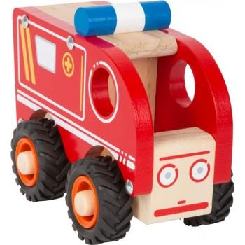 Ambulans Alicja drewniana...