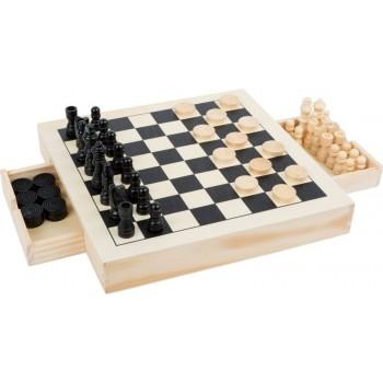 Zestaw gier drewnianych 3 w...
