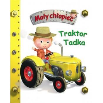 KS6 Mały chłopiec .Traktor...